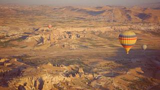 カッパドキアの気球の写真・画像素材[1326397]