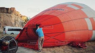 気球準備の写真・画像素材[1326398]