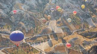 カッパドキア気球ツアーの写真・画像素材[1336074]