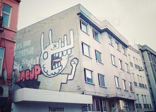 イスタンブールのストリートアートの写真・画像素材[1361603]