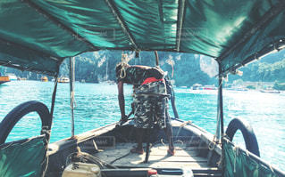 ピピ島のタクシーボートの写真・画像素材[1372191]