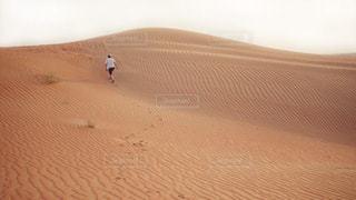 砂漠にての写真・画像素材[1374347]