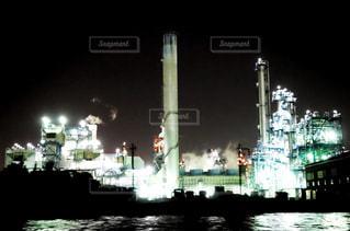 工場夜景の写真・画像素材[1395248]