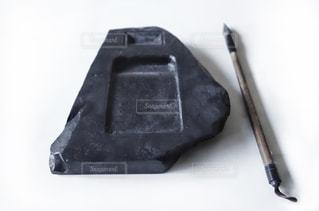 硯と筆の写真・画像素材[1395253]
