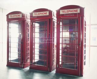 海外の電話ボックスの写真・画像素材[1403433]