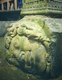 地下宮殿のメデューサの写真・画像素材[1403435]