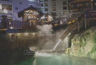 夜の草津の写真・画像素材[1456783]