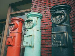 郵便ポストの写真・画像素材[1456802]