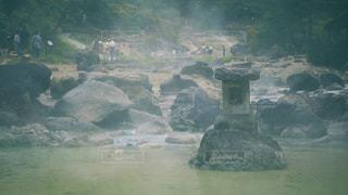 草津西の河原公園にての写真・画像素材[1456804]