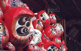 達磨寺のだるまの写真・画像素材[1456822]