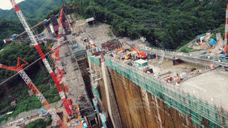 八ッ場ダムの写真・画像素材[1456828]