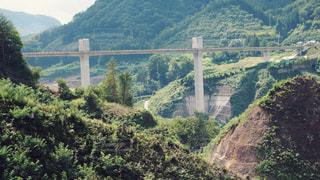 八ッ場ダム建設中の写真・画像素材[1456833]