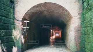 猿島のトンネルの写真・画像素材[1465558]
