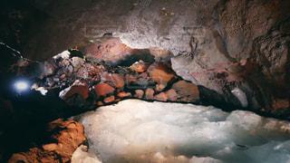 富岳風穴内部の写真・画像素材[1483170]