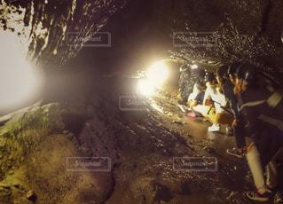 鳴沢氷穴の写真・画像素材[1483192]