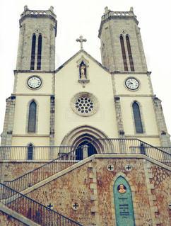 ニューカレドニアの大聖堂の写真・画像素材[1504618]