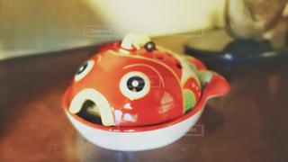 金魚の蚊取線香受けの写真・画像素材[1650196]