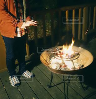 焚き火の写真・画像素材[1650221]