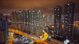 香港高層ビルの写真・画像素材[1766775]