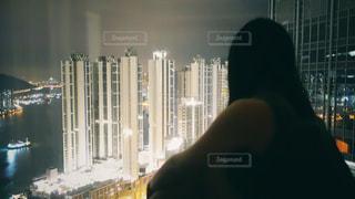 香港夜景の写真・画像素材[1766776]