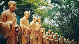 香港の仏たちの写真・画像素材[1766823]