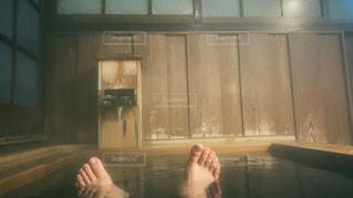 温泉での写真・画像素材[1766860]