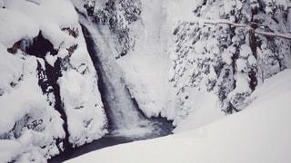 白銀の滝の写真・画像素材[1766871]