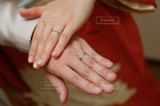 結婚指輪の写真・画像素材[1858146]