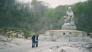 恐山の写真・画像素材[2111920]