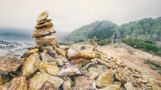恐山の写真・画像素材[2112050]