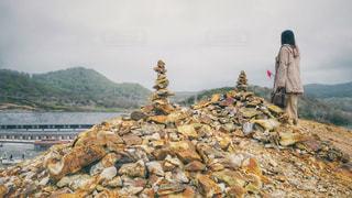 恐山の写真・画像素材[2112052]