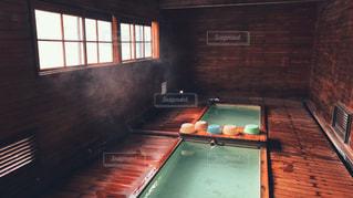 恐山の風呂の写真・画像素材[2112193]