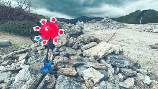 恐山の写真・画像素材[2112235]