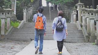 三峰神社にての写真・画像素材[2766568]