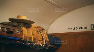 電車での長旅の写真・画像素材[2766655]
