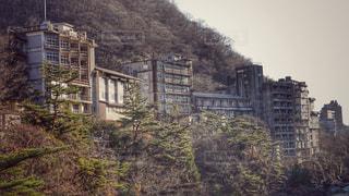 廃墟ホテルの写真・画像素材[2818725]