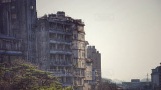 廃墟ホテル群の写真・画像素材[2818724]