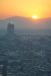 都会の夕暮れの写真・画像素材[2873755]
