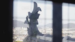 姫路城のシャチホコの写真・画像素材[3133551]