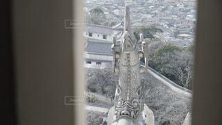 姫路城のシャチホコの写真・画像素材[3133547]