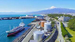 沼津からの富士山の写真・画像素材[3165340]