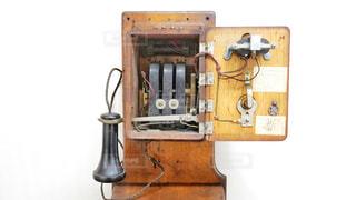 昔の電話の写真・画像素材[3167782]