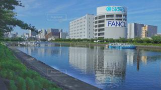 鮫洲の勝島運河の写真・画像素材[3512452]
