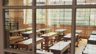 小学校の教室の写真・画像素材[3548714]