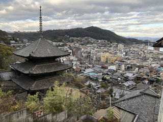 千光寺から見た尾道市街の写真・画像素材[2845424]
