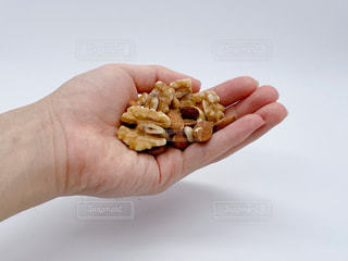 素焼きナッツの写真・画像素材[3058347]