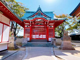 吹揚稲荷神社の写真・画像素材[3077340]