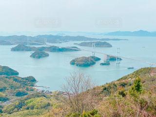 来島海峡大橋の写真・画像素材[3093799]