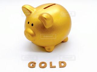 純金投資のイメージの写真・画像素材[3099755]