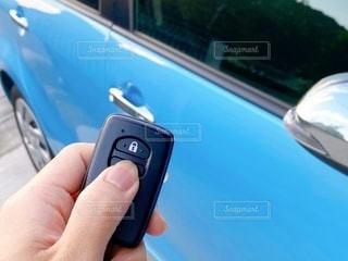 車のスマートキーの写真・画像素材[3338360]